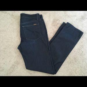 Joe's dark wash classic fit jeans